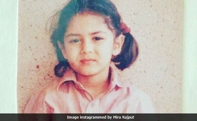 Inside Shahid Kapoor's Wife Mira Rajput's School Album