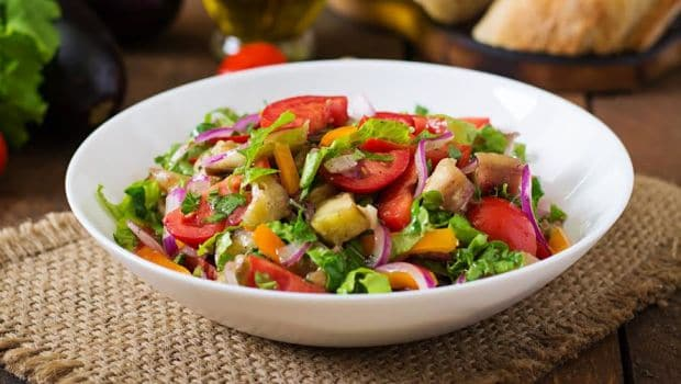 mixed vegetable salad recipe