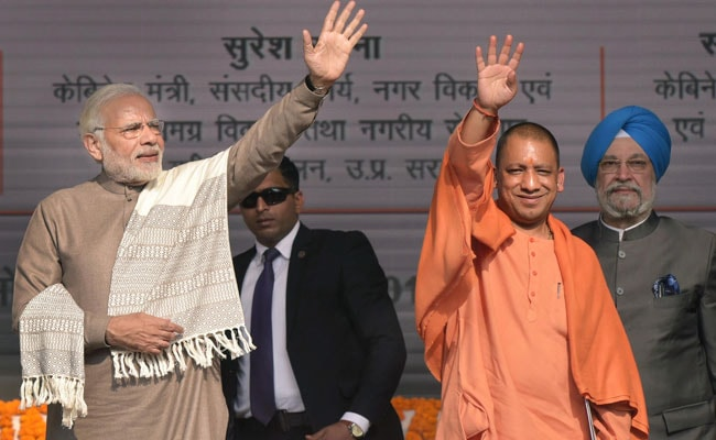 Metro In Agra, Kanpur; Jewar Airport Project Expedited: Yogi Adityanath