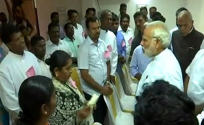 Will Spare No Effort, PM Modi Tells Fishermen Hit By Cyclone Ockhi