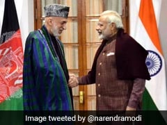 PM Modi Discusses Bilateral Issues With Ex-Afghan President Hamid Karzai