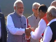 Vijay Rupani Swearing-In Ceremony Highlights: BJP Chief Ministers Heap Praises On PM Modi, Amit Shah And Vijay Rupani