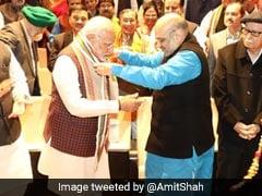 मोदी सरकार 2.0 का एक साल:अमित शाह बोले- PM मोदी ने 6 साल में कई ऐतिहासिक गलतियों को सुधारा, आत्मनिर्भर भारत की रखी नींव