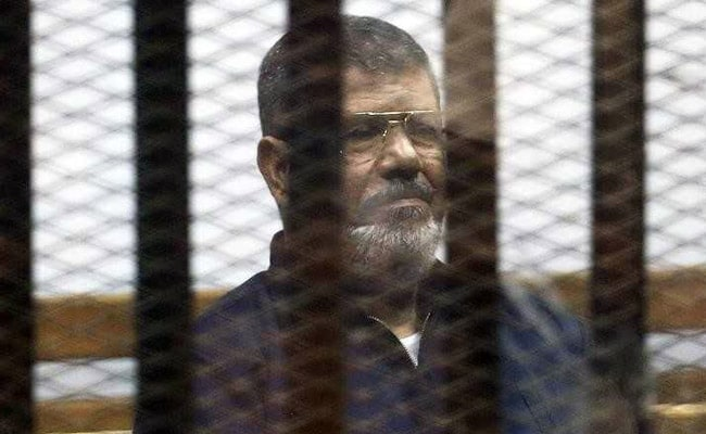 Egypt Sentences Ex-President Mohamed Mursi, 19 Others To Three Years In Jail For Insulting Judiciary