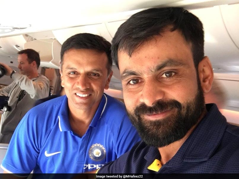 Hafeez Tweeted A Photo Dravid. Here's How Pakistan Fans Reacted