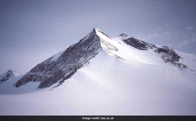 Mt Hope New Tallest Mountain In British Antarctic Territory