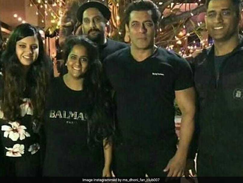 After Virushka Reception, Mahendra Singh Dhoni Attends Salman Khan's Birthday Bash