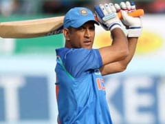 MS Dhoni Responds To Detractors With Defiant Display In Dharamsala