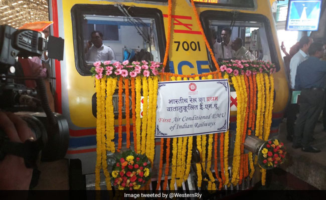Mumbai gets India's first AC local train