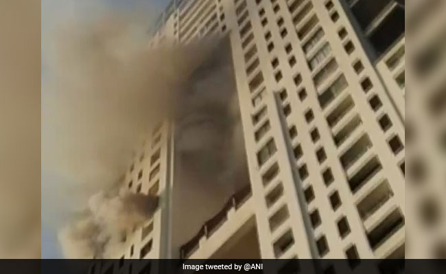 Fire At 17th Floor Of Duplex Flat In Mumbai