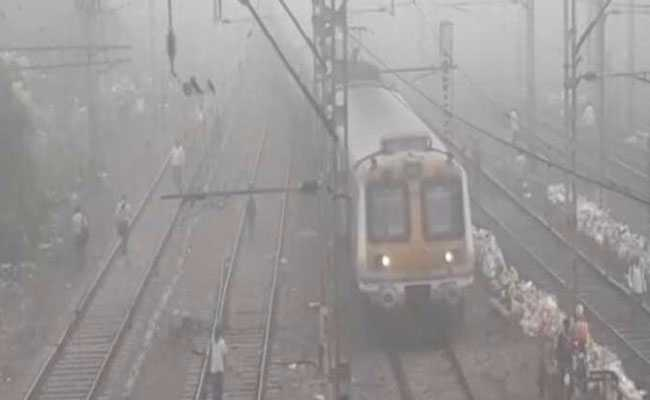 Thick Morning Fog Surprises Mumbai, Railway Services Affected