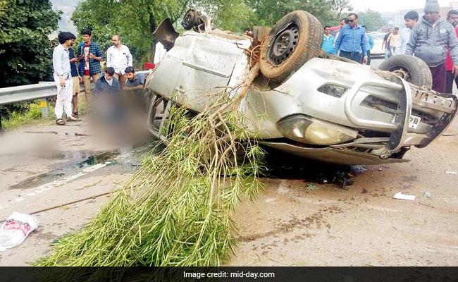 Mumbai-Pune Expressway Crash: SUV Landed In Oncoming Traffic