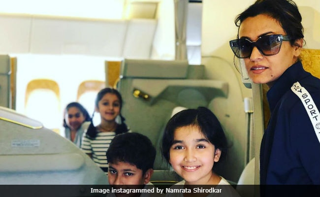 Inside Namrata Shirodkar's Vacation With Kids. But Where Is Mahesh Babu?