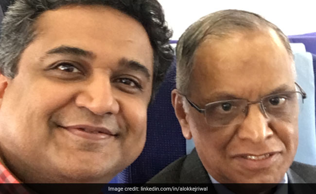 What This CEO 'Unlearnt' In Four Minutes With Narayana Murthy