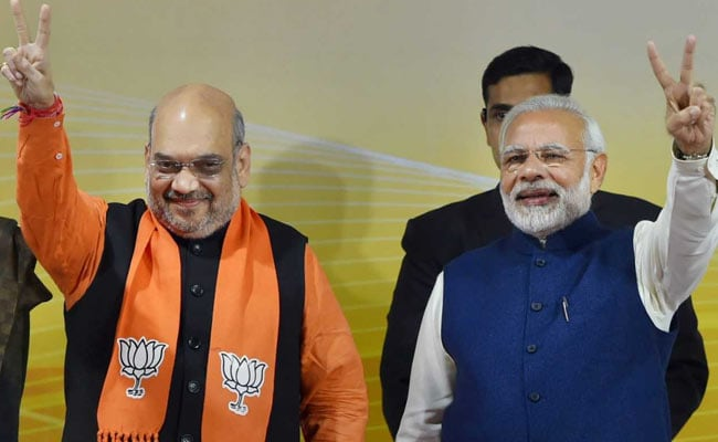 At PM Modi's Home, Dinner And Brainstorming Session For 2019 Polls
