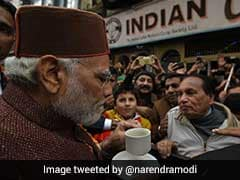 PM Modi Jogs Memory With Cup Of Coffee At Shimla As BJP Forms Government