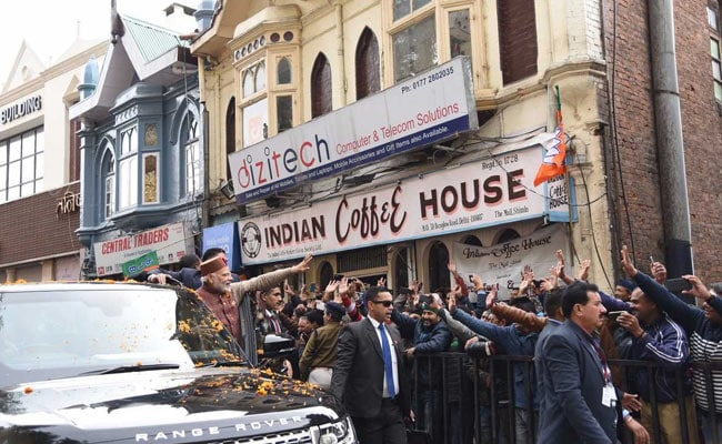 narendra modi coffee shimla indian coffee house