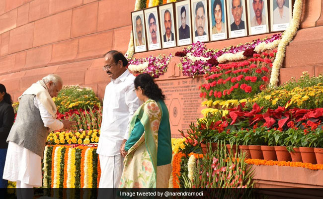 Parliament attack anniversary: President Kovind, PM Modi lead tributes for fallen heroes