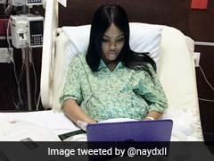 Photo Of Woman Finishing Her Exam While In Labour Goes Viral