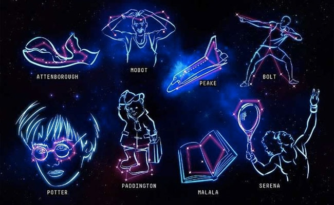 New Constellations Named After Serena Williams, Usain Bolt, Harry Potter