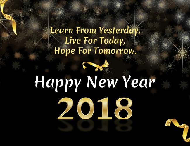 Image result for image of new year 2018