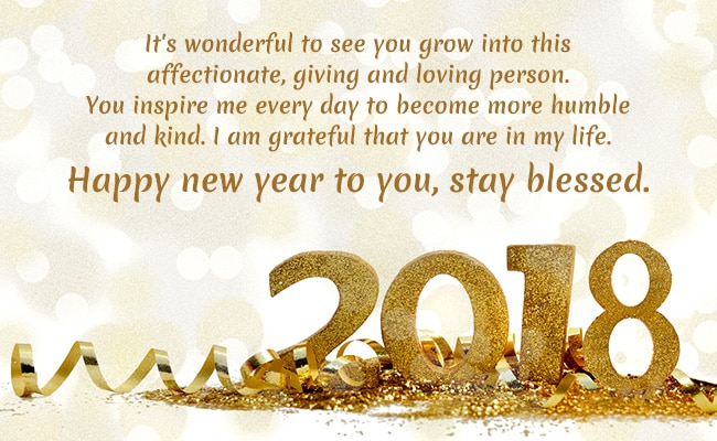 Elegant New Year Wishes. Happy New Year 2018: ...
