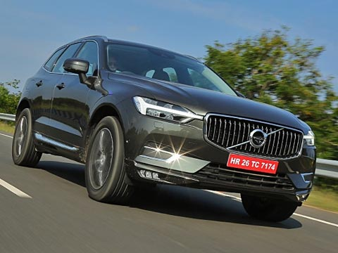 We drive Volvo\'s safest car in the world - the XC60. Tap to read