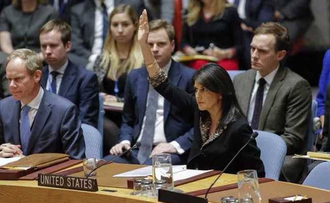 nikki haley un resolution on jerusalem afp