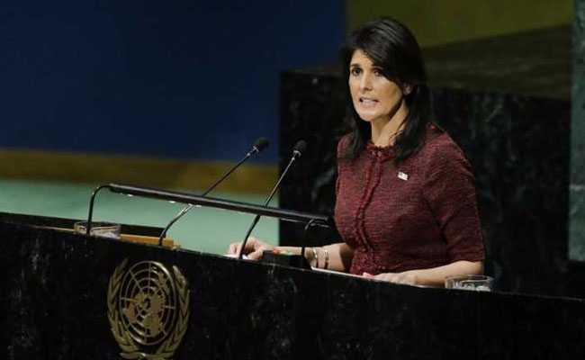 'Will Remember This Day', Says US, 'Singled Out' On Jerusalem Vote At United Nations