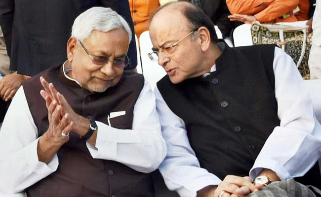 For Arun Jaitley, Nitish Kumar Went To Airport Straight From Wedding
