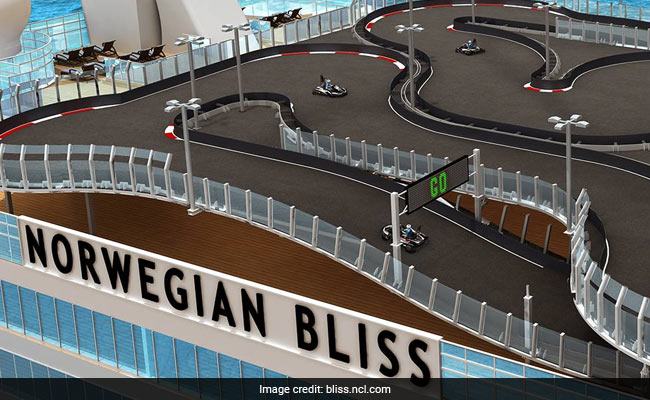 Coming To Cruise Ships In 2018: Race Tracks And Drones That Dive