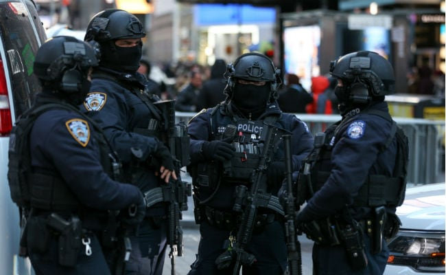 New York Police Poised To Thwart New Year's Eve Suicide Bombers