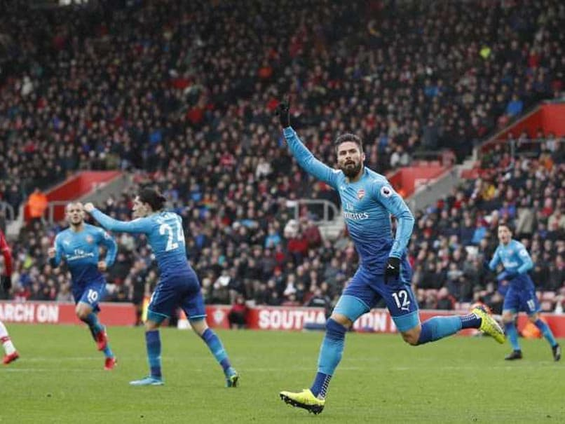 Premier League: Olivier Giroud Strikes Late To Rescue Arsenal vs Southampton