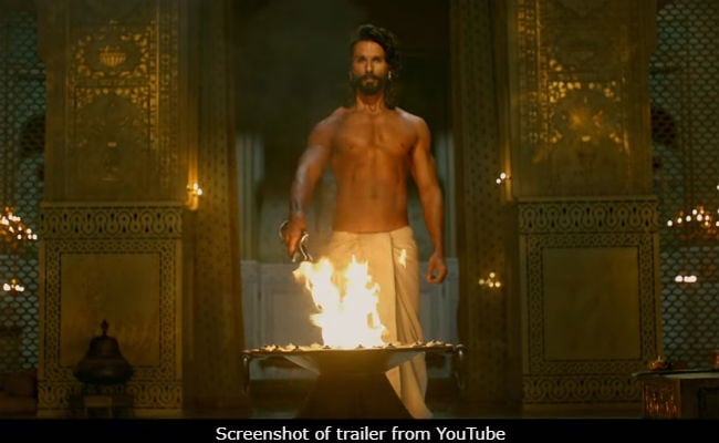 For Padmavati, Shahid Kapoor Lost 4 Kilos In 5 Days, Believe It Or Not