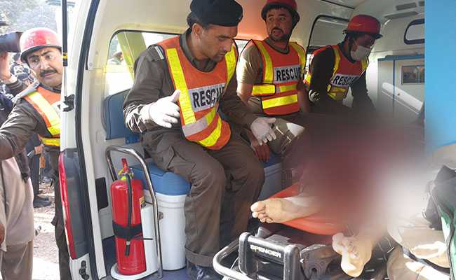 4 injured in terror attack in Peshawar