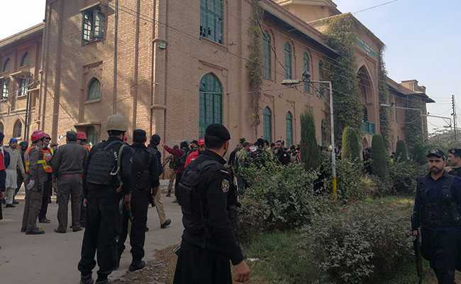 12 Killed As Taliban Disguised In Burqas Attack Agriculture Training Institute In Peshawar, Pakistan