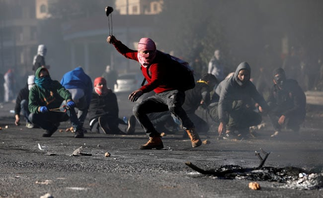 palestinian protestor reuters