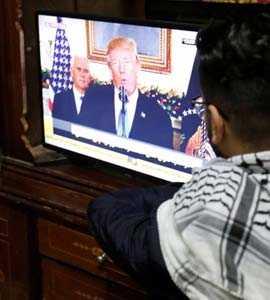 Donald Trump Dangles Middle East Peace Plan To Limit Jerusalem Outcry