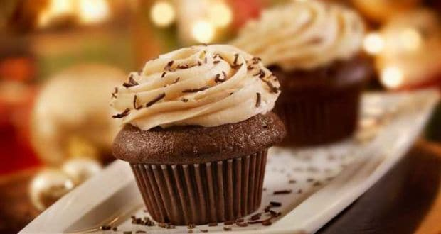 peanut butter or chocolate cupcake