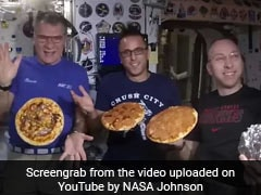 Watch: Astronauts Making Pizza In Zero Gravity Looks Out Of The World