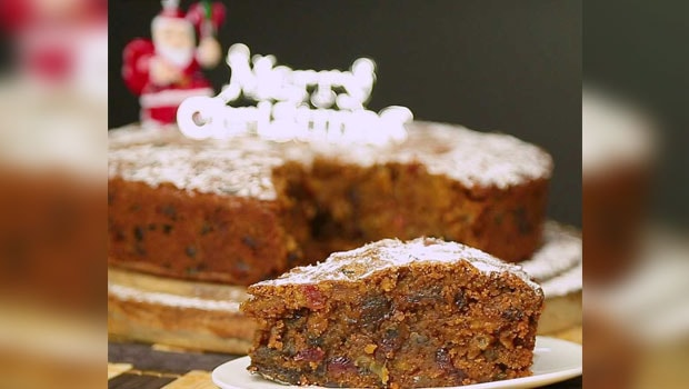 Rich Plum Cake Recipe In Pressure Cooker: Christmas Plum Cake Recipe