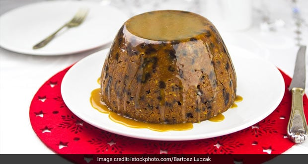 Plum Pudding with Brandy Sauce