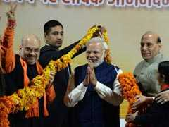 BJP Wins Gujarat But Short Of Century, Sweeps Himachal: 10 Points