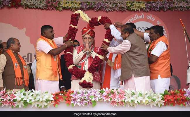 Updates: PM Narendra Modi Says Congress Have 'Mughlai Mindset'