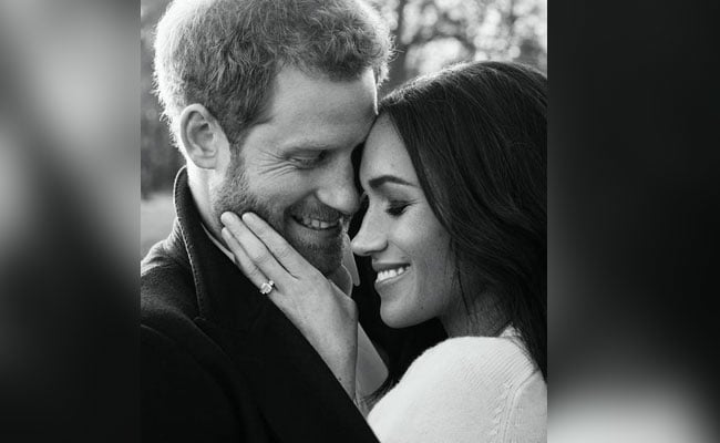 UK's Prince Harry And Fiancee Meghan Markle Release Engagement Pictures