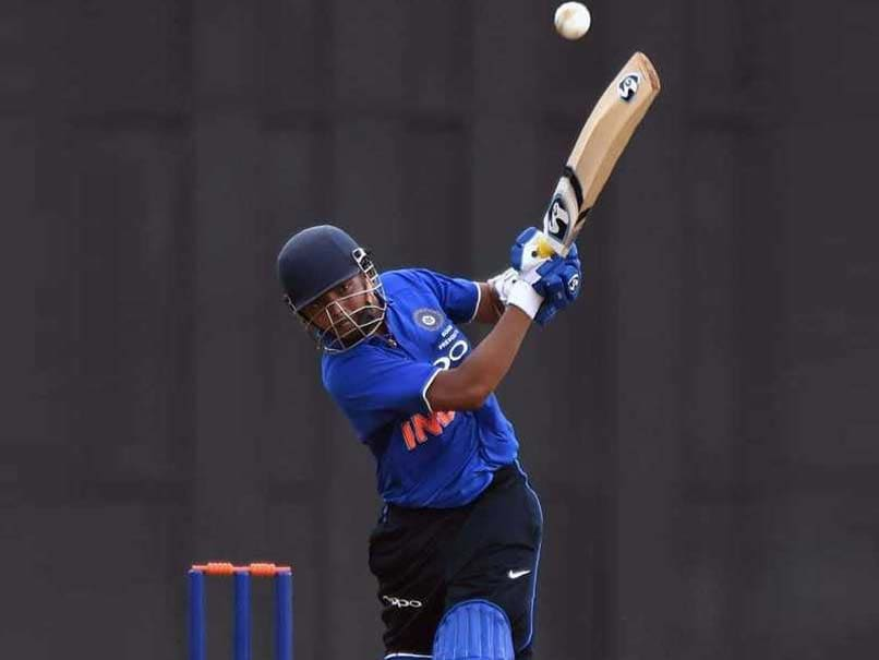 Prithvi Shaw Appointed Captain Of India