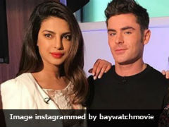 How's Priyanka Chopra Doing, Asked Her <i>Baywatch</i> Co-Star Zac Efron