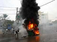 Lebanon Forces Fire Tear Gas At Protestors Near US Embassy