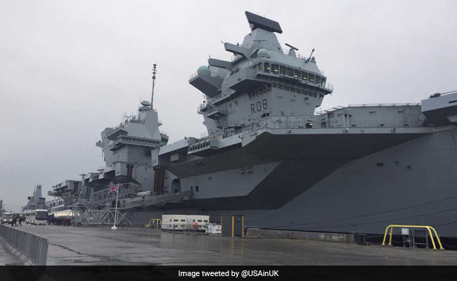 Queen Elizabeth Inaugurates New 'Best Of British' Aircraft Carrier