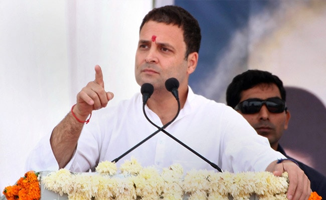 Not Releasing Manifesto Is Disrespect To People Of Gujarat: Rahul Gandhi's Dig At BJP